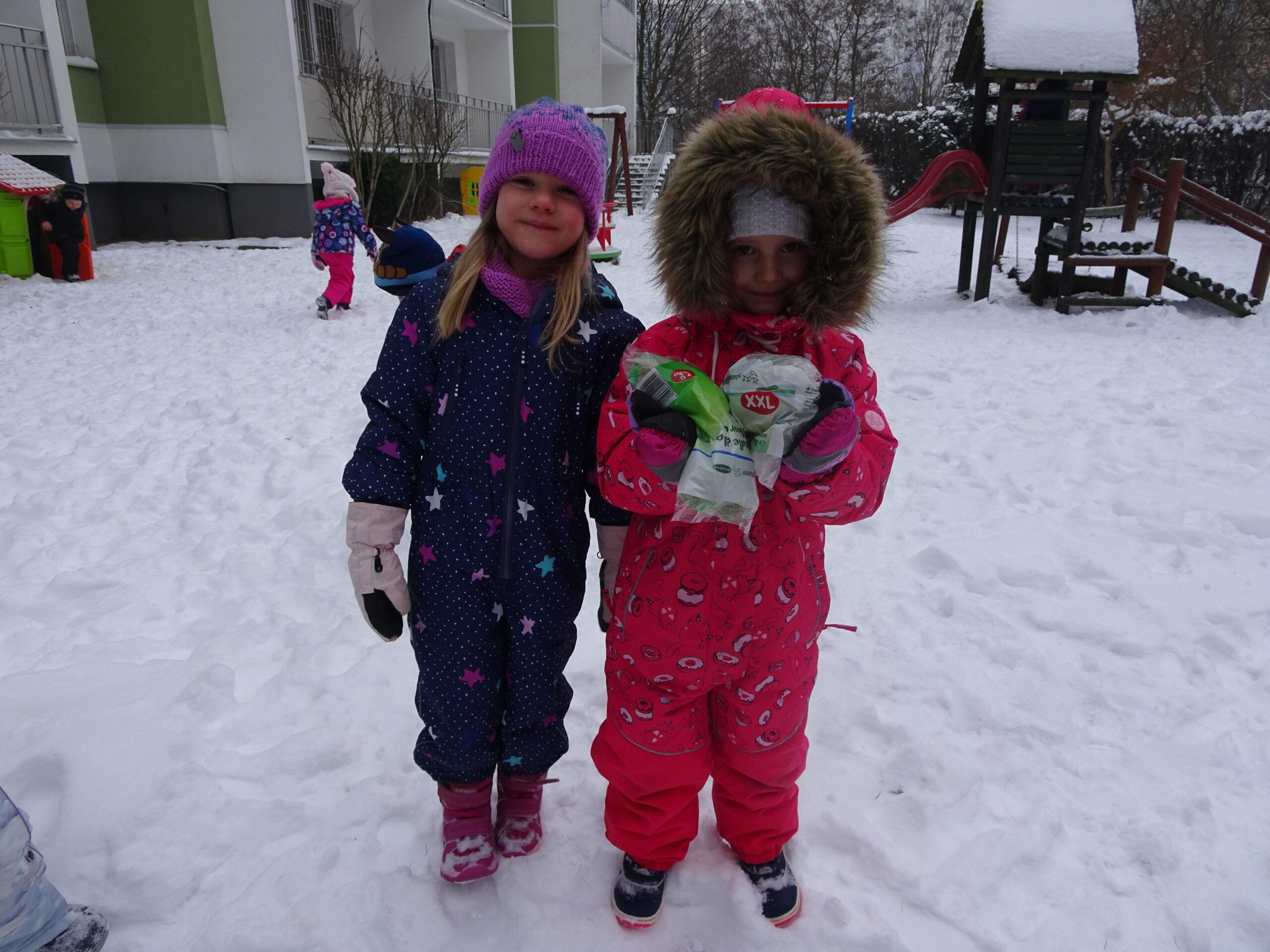 Zabawy zimowe – luty